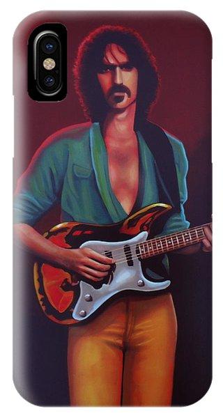 American Musician iPhone Case - Frank Zappa by Paul Meijering
