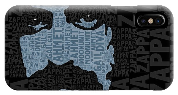 Frank Zappa iPhone Case - Frank Zappa  by Tony Rubino