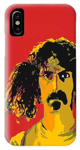 Frank Zappa iPhone Case - Frank Zappa by Viv Griffiths