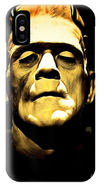 Dark Humor iPhone Case - Frankenstein 20140921brunaille by Wingsdomain Art and Photography