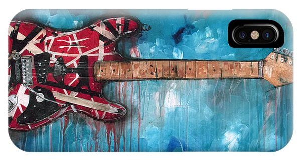 Musical iPhone Case - Frankenstrat by Sean Parnell