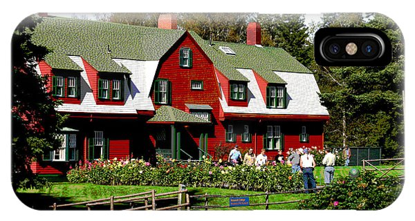 Franklin D. Roosevelt Cottage Campobello Nb IPhone Case