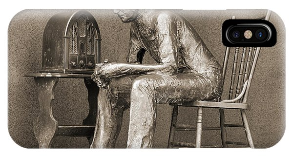 Franklin Delano Roosevelt Memorial - Bits And Pieces 5 IPhone Case