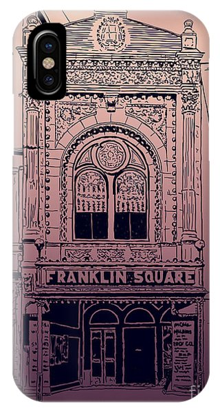 Franklin Square Theatre IPhone Case
