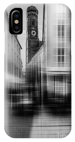 Frauenkirche - Muenchen V - Bw IPhone Case