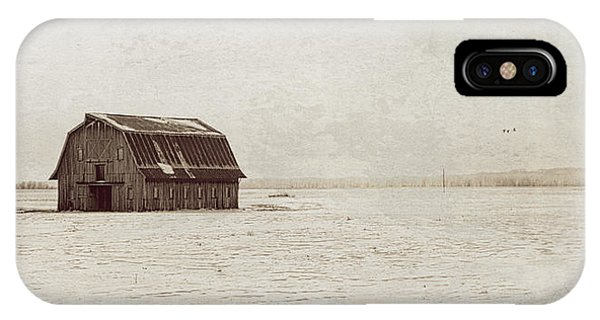 Frechman Barn With Textures IPhone Case