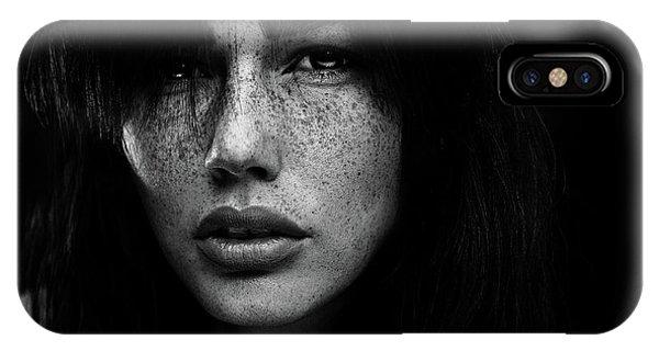 Freckles [romi] Phone Case by Martin Krystynek Qep