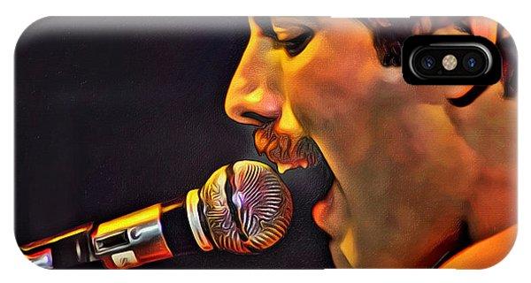 Freddie Mercury Series 2 IPhone Case