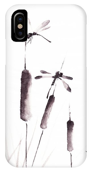 Free As The Dragonflies IPhone Case