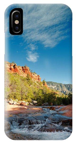 Free Flow At Oak Creek IPhone Case