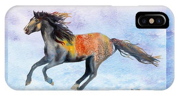 Da114 Free Gallop By Daniel Adams IPhone Case