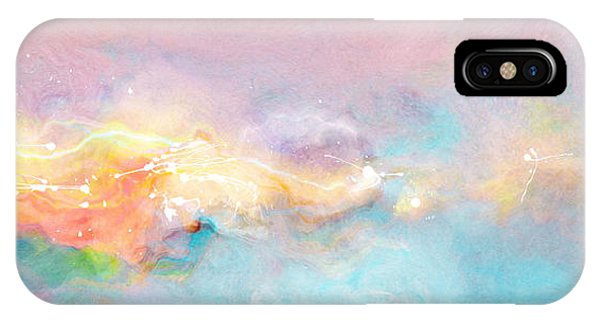 IPhone Case featuring the painting Freedom - Abstract Art by Jaison Cianelli