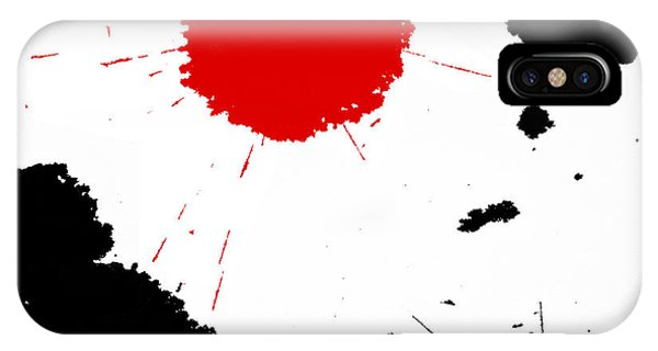Freedom / Blood And Ink IPhone Case
