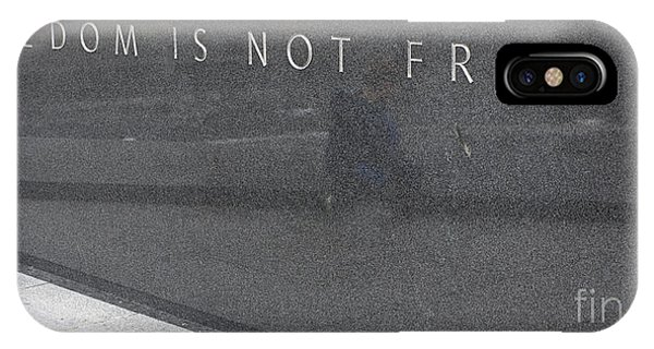Freedom Is Not Free IPhone Case