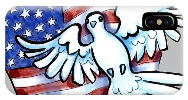 4th July iPhone Case - Freedom by Kevin Middleton
