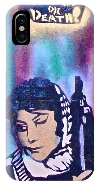 Fred Hampton iPhone X Case - Freedom Or Death 1 by Tony B Conscious