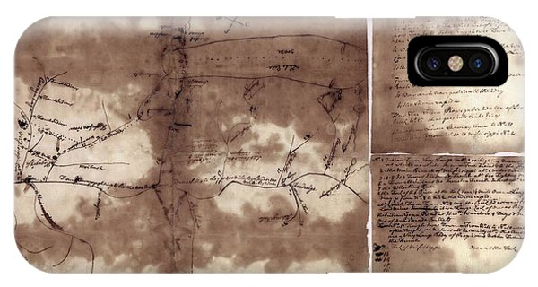 Mississippi River iPhone Case - French And Indian War Map by Library Of Congress, Geography And Map Division