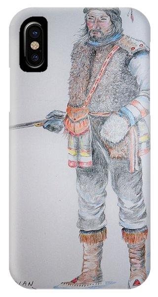 French Canadian Hunter IPhone Case