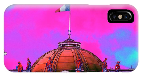 French Dome Art IPhone Case
