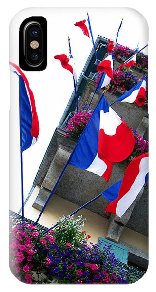 Buy Art Online iPhone Case - French Flags by Alexandros Daskalakis