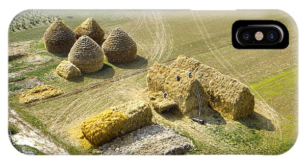 French Haystacks IPhone Case