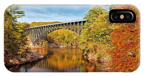 French King Bridge In Autumn IPhone Case