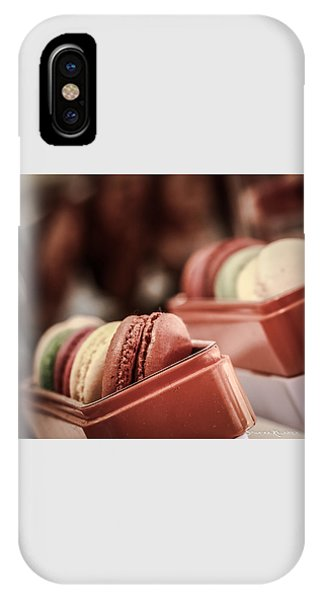 IPhone Case featuring the photograph French Macaroons by Stwayne Keubrick