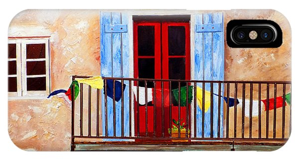 French Quarter Balcony Nola IPhone Case