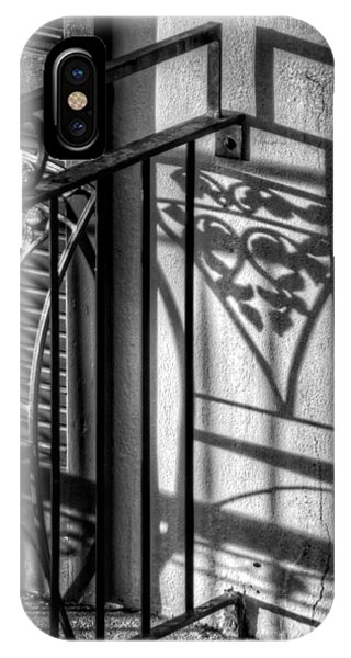 French Quarter Balcony Shadow IPhone Case
