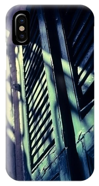 IPhone Case featuring the photograph French Quarter Doors by Carol Whaley Addassi