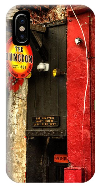 French Quarter Dungeon IPhone Case