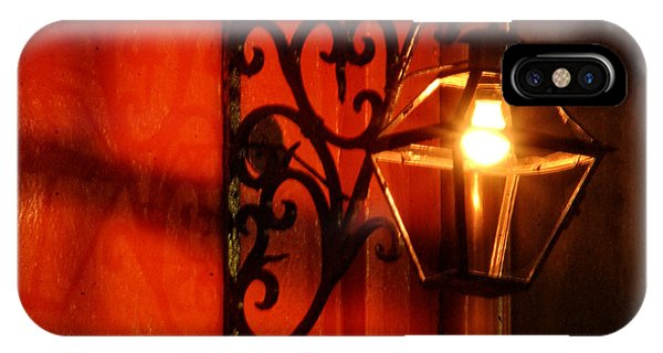French Quarter Sconce IPhone Case