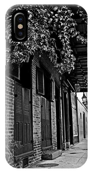 French Quarter Sidewalk IPhone Case