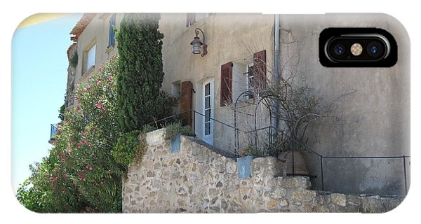 French Riviera - Ramatuelle IPhone Case