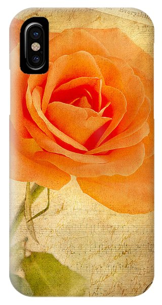 French Rose IPhone Case