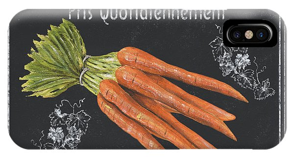 Organic Foods iPhone Case - French Vegetables 4 by Debbie DeWitt