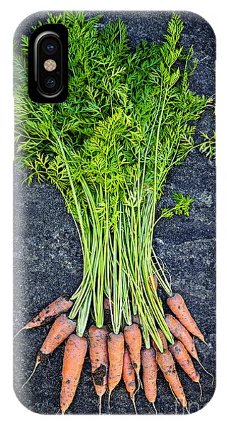 Fresh Carrots From Garden IPhone Case