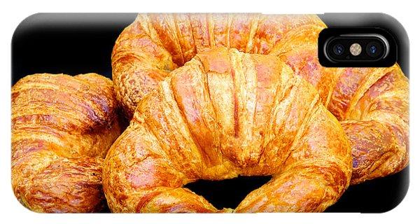 Fresh Croissants IPhone Case