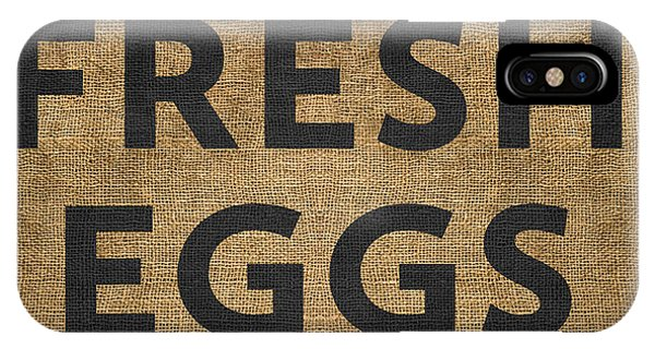 Kitchen iPhone Case - Fresh Eggs by Nancy Ingersoll