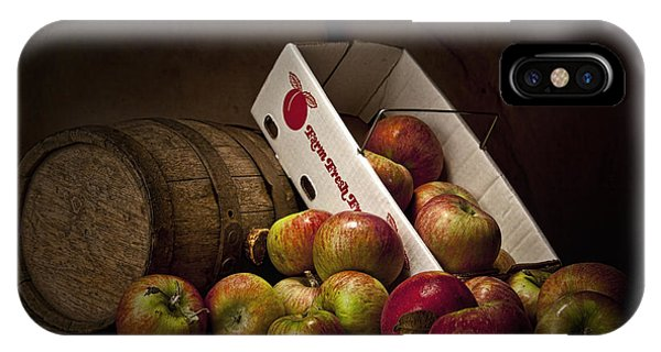 Red Fruit iPhone Case - Fresh From The Orchard I by Tom Mc Nemar