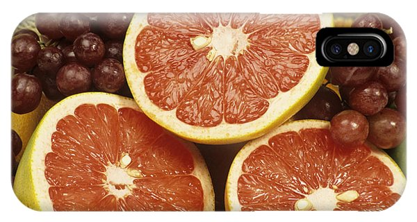 Grapefruit iPhone Case - Fresh Fruit by Sally Mccrae Kuyper/science Photo Library