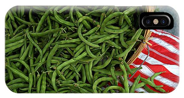 Fresh Green Beans IPhone Case
