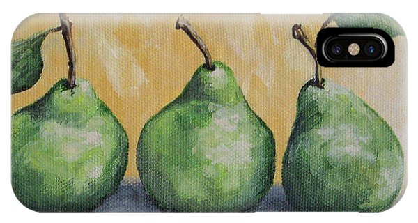 Fresh Green Pears IPhone Case