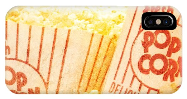 Fresh Hot Buttered Popcorn IPhone Case