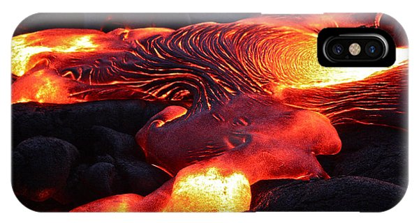 Fresh Lava Flow IPhone Case