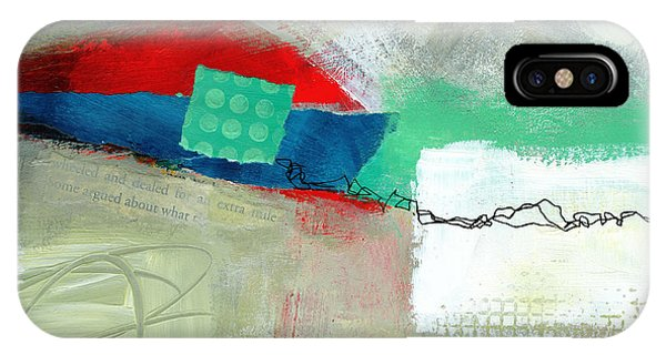 Fresh iPhone Case - Fresh Paint #1 by Jane Davies