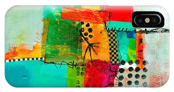 Fresh iPhone Case - Fresh Paint #5 by Jane Davies