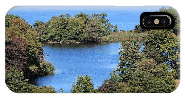 Fresh Pond At Caumsett IPhone Case
