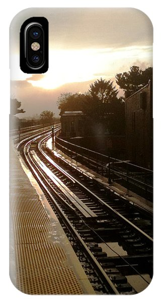Fresh Pond Rd Station IPhone Case