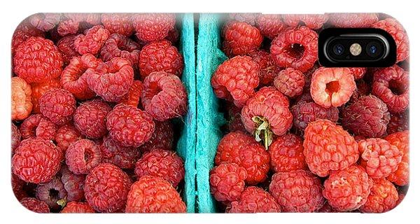 Fresh Raspberries IPhone Case